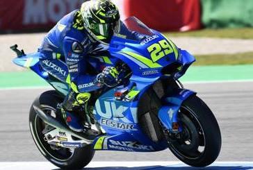 MotoGp, Andrea Iannone partirà dall'8° posizione