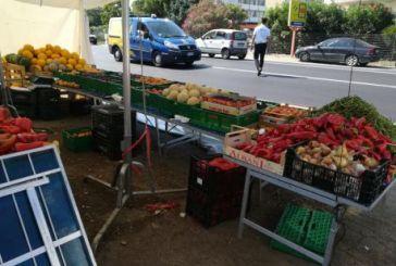 Chiosco di frutta e verdura sulla SS16, nuovo sequestro
