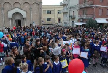 La marcia della pace degli studenti di San Salvo
