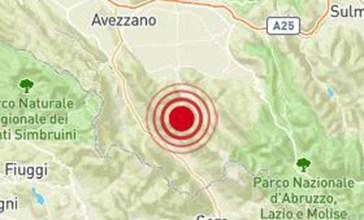 Terremoto, tanta paura a Collelongo