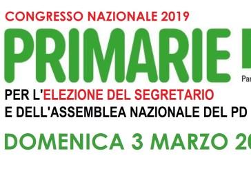 Domenica 3 Marzo le primarie per eleggere il Segretario Nazionale del Partito Democratico