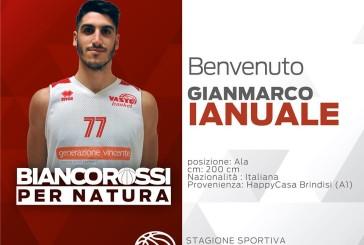 Ge.Vi. Vasto Basket, arriva Gianmarco Ianuale