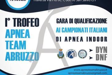 Allo Sport Village di San Salvo il primo trofeo Apnea Team Abruzzo