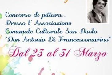 """Vasto, la 1° edizione del Concorso di pittura al Femminile """"Lucia Borghi"""""""