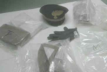 Trasportava tre chili e mezzo di cocaina, arrestato a San Salvo un 26enne