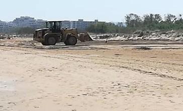 Tolto il campo di beach volley sulle dune protette