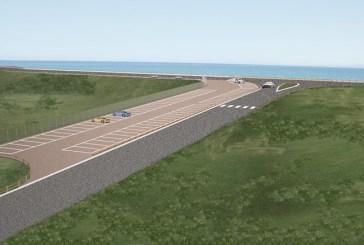 Nuovo parcheggio a Punta Aderci,