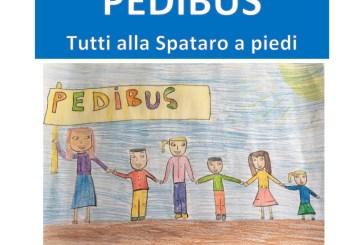 Progetto Pedibus, sabato bambini a scuola a piedi accompagnati da volontari