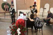 Carabiniere ucciso, allestita la camera ardente