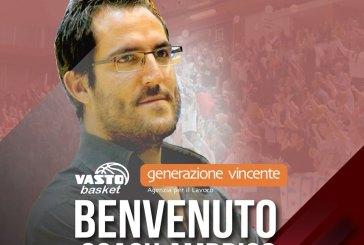 Basket, alle 19 il nuovo coach Gianpaolo Ambrico si presenta alla città