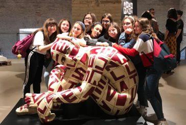 Libro tattile dei ragazzi della scuola Rossetti premiato alla Biennale Artemisia