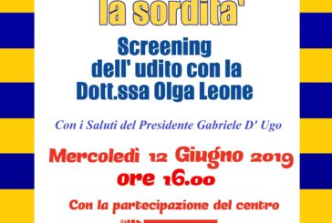 """Al Circolo """"Don Antonio Di Francescomarino"""", lo """"Screening gratuito dell'Udito"""""""
