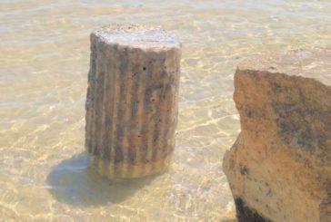Reperto archeologico rinvenuto in mare a Vasto Marina
