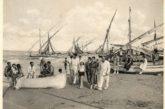 Al mare di Vasto un secolo fa, quando si scendeva con i muli ed era proibito spogliarsi