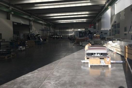 vista della fabbrica