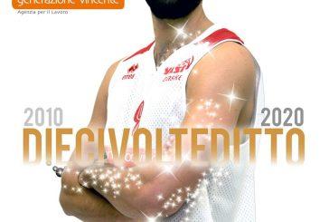 Vasto Basket, Luca Di Tizio ancora in biancorosso