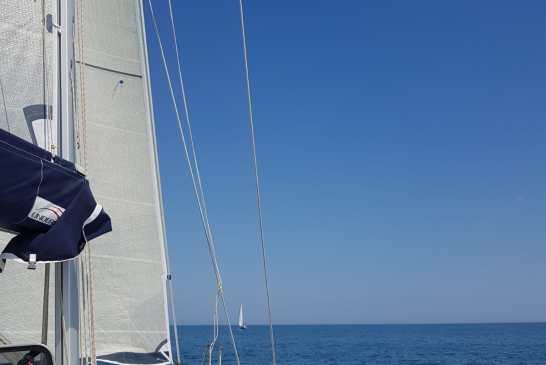 mare senza barriere barca a vela