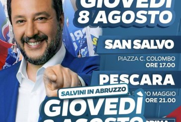 Ministro Salvini a San Salvo, ecco come sarà la viabilità di domani