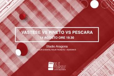 Vastese Calcio, ecco dove effettuare la prevendita on line per le amichevoli con Benevento e Pescara/Pineto