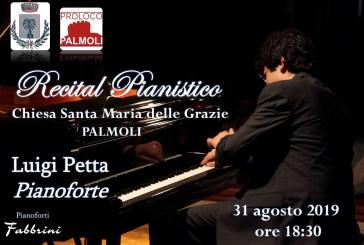 Il M° Luigi Petta si esibirà nella Chiesa Santa Maria delle Grazie di Palmoli