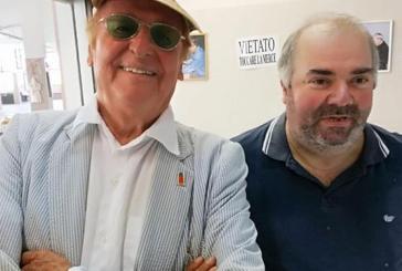 Vasto, Renzo Arbore al mercato Santa Chiara