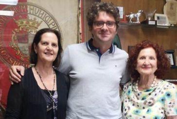 Funzionarie dell'Ambasciata Australiana in visita al Comune di Vasto