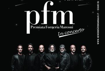 La PFM Premiata Forneria Marconi in concerto a San salvo Marina