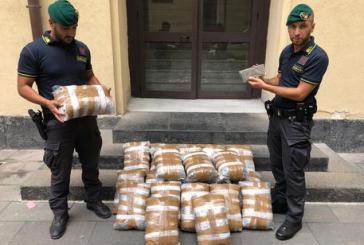 Con 46 kg di marijuana in auto, arrestato in Sicilia 48enne teramano