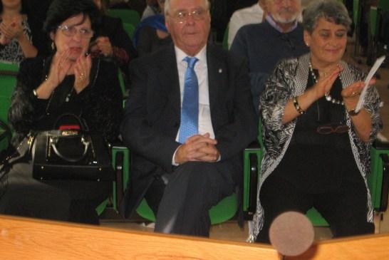 2 - Il prof. Medea con la moglie Angela e la prof.ssa Gallieni