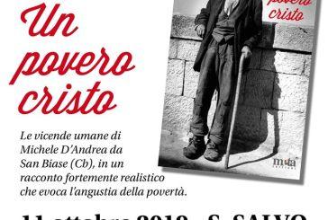 """Oggi la presentazione del libro """"Un povero cristo"""" di Michele Tanno"""