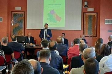 Luciano Lapenna lascia la presidenza dell'Anci Abruzzo a Gianguido D'Alberto, sindaco di Teramo
