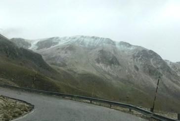 Torna la neve sul Gran sasso, -4,2° al Rifugio Franchetti