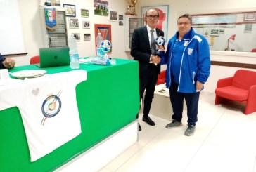 Settore giovanile biancorosso, Giannone ritira la Coppa Disciplina