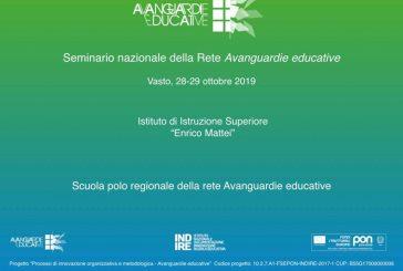 """Al """"Mattei"""" il seminario nazionale di Avanguardie Educative"""