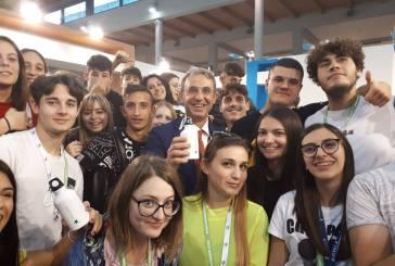 Gli studenti del Palizzi alla fiera di Rimini