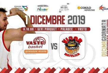 Basket, oggi al PalaBcc la sfida con la capolista: la Vigor Matelica
