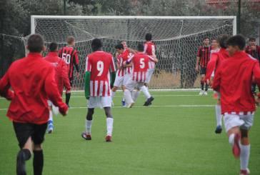 Calcio, vittoria per i Giovanissimi e per gli Allievi Regionali biancorossi