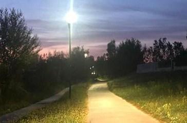 Vasto Marina, terminati i lavori d'illuminazione della pista ciclopedonale
