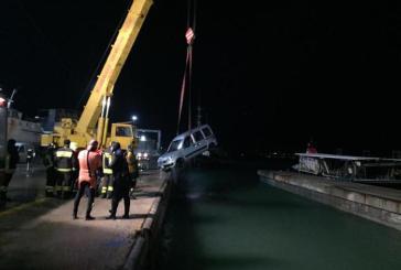 Auto finisce nel porto di Termoli, morto il conducente