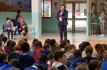 Il ricordo di Spataro nella scuola che prende il suo nome,