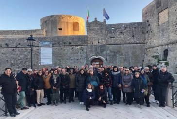 Il gruppo di Italia nostra del Vastese a Manfredonia, una nuova interessante visita guidata