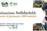"""""""Destinazione Solidarietà"""", un pasto al giorno per 400 bambini"""