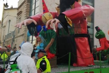 La Protezione civile di Casalbordino al 47° Carnevale Scernese