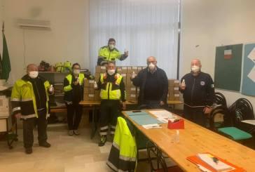 Casalbordino, il sindaco e la giunta comunale donano gel igienizzanti alle famiglie casalesi