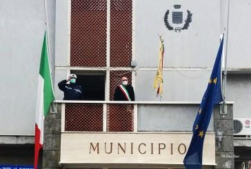 Casalbordino, bandiera a mezz'asta e minuto silenzio per le vittime del Coronavirus