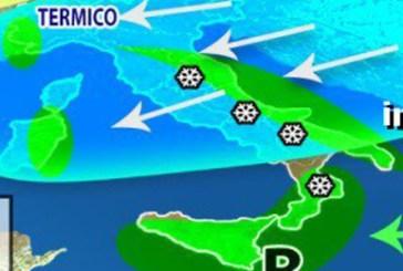 Meteo: arriva l'inverno. Da domani vento freddo, poi il ciclone con neve in pianura