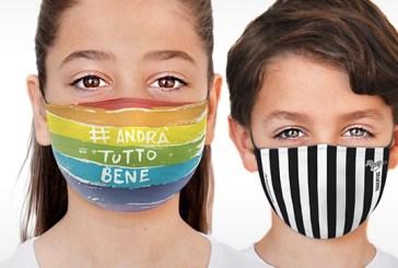 Per i bambini arrivano le mascherine come le cover dei cellulari