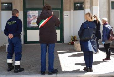 Nell'11° anniversario del terremoto de L'Aquila, l'omaggio dell'Amministrazione comunale alla palestra