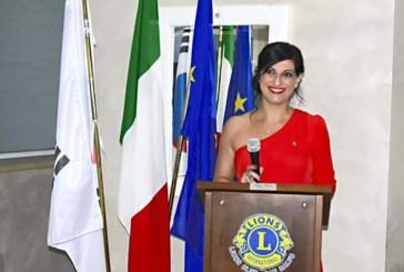 Romina Palomboè il nuovo presidente delLions Club San Salvo