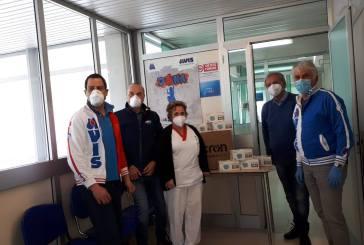 Le Avis Comunali di San Salvo, Vasto, Casalbordino e Pollutri donano 1200 mascherine al Centro Trasfusionale dell'Ospedale di Vasto